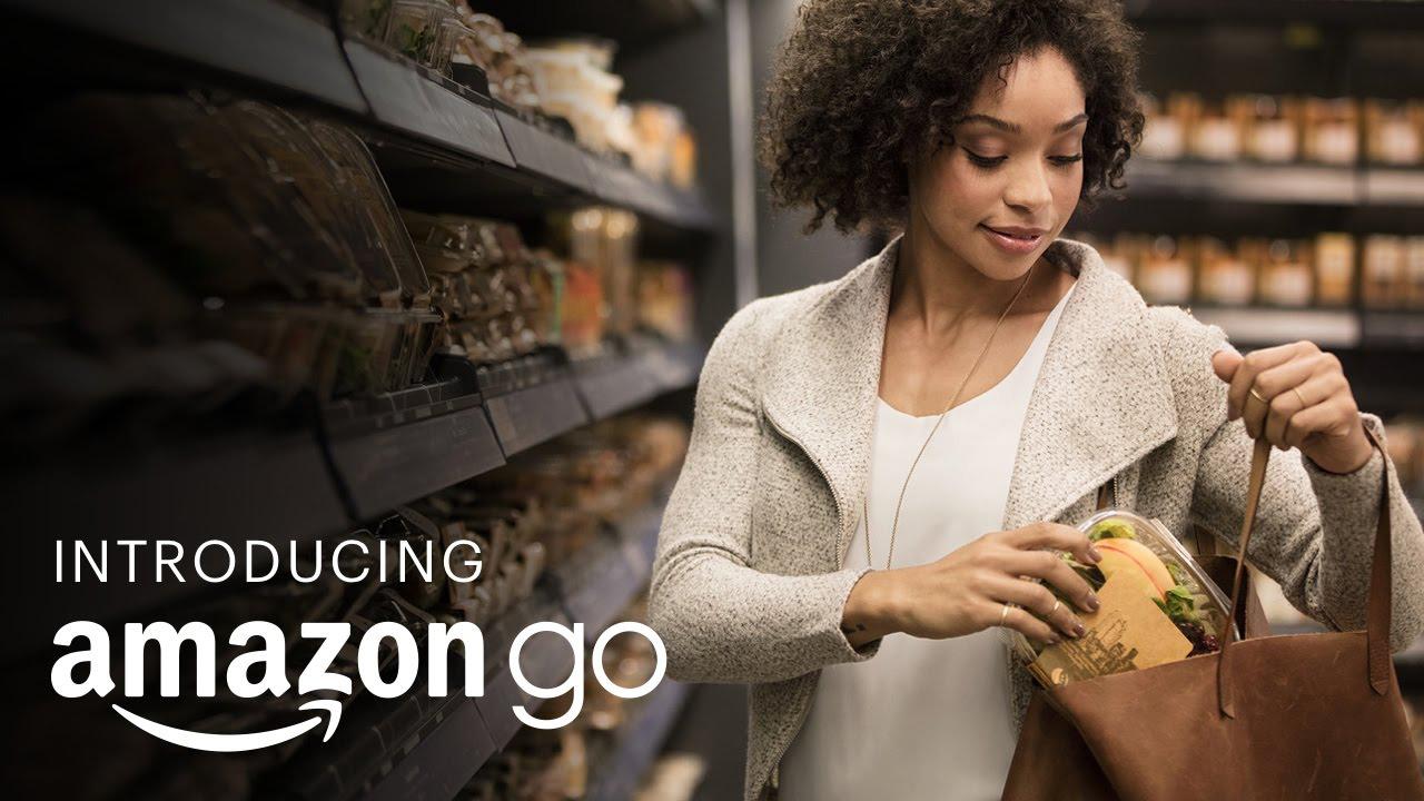 Apre Amazon Go: il supermercato senza casse, né attese