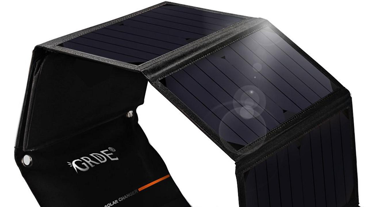 Pannello Solare Portatile Per Bici : Pannello solare portatile da a metà prezzo su amazon