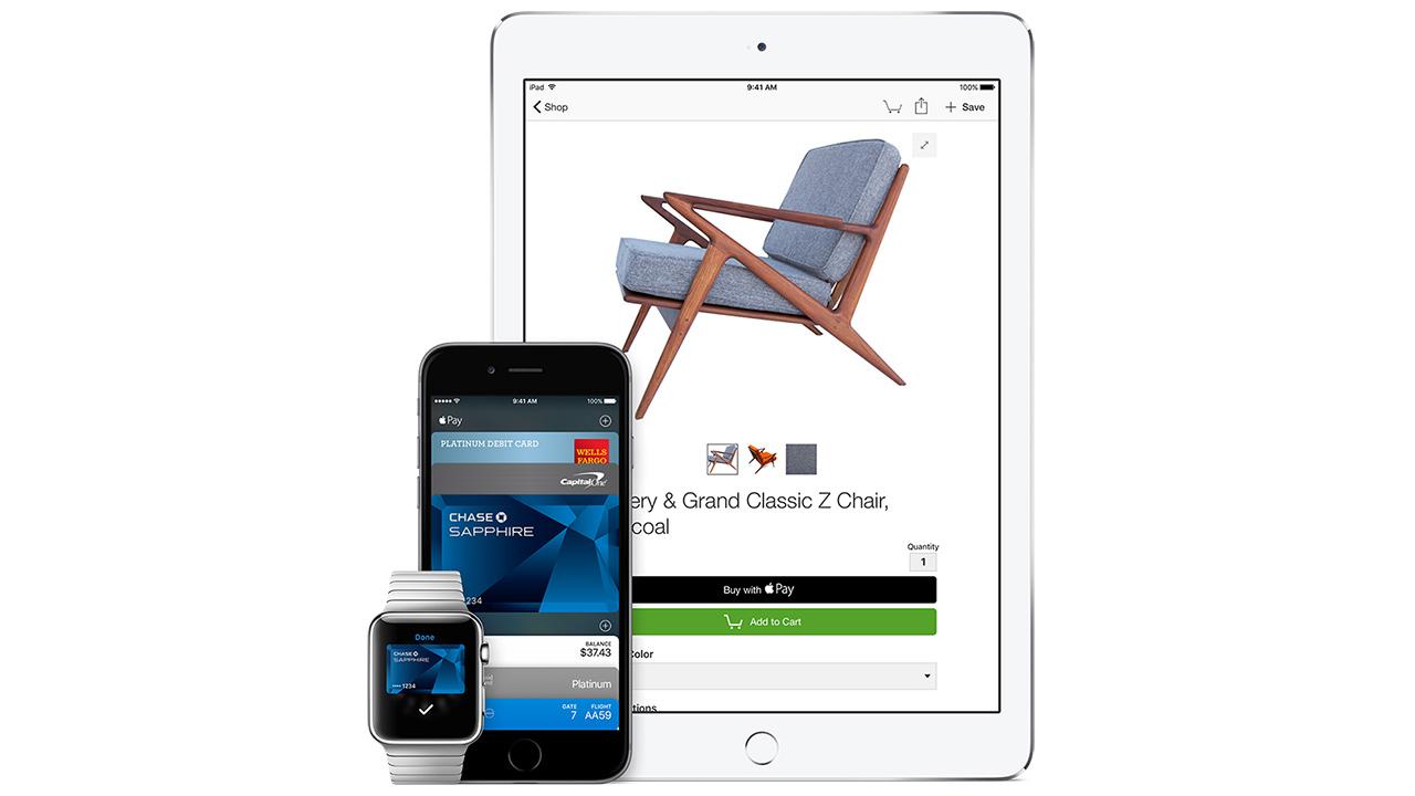 Apple Pay arriva anche sul web