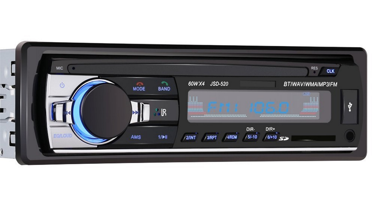 Autoradio Bluetooth con player MP3, entrate USB ed SD a soli 26 Euro su Amazon