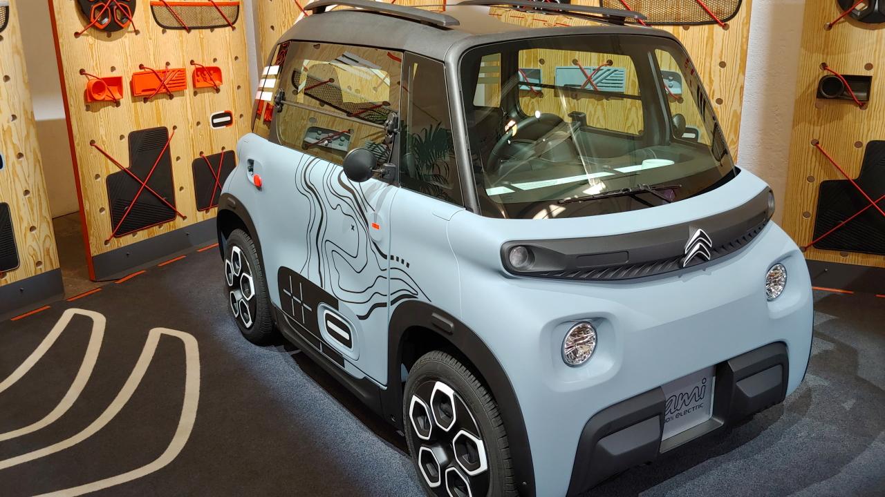 Citroën Ami è stata trasformata in un  …