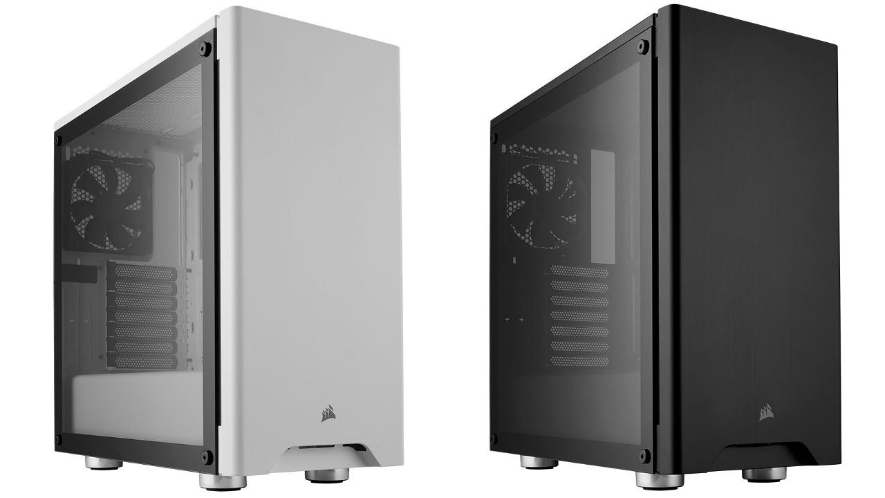 Corsair case carbide 275r mid tower black or white for Design economico