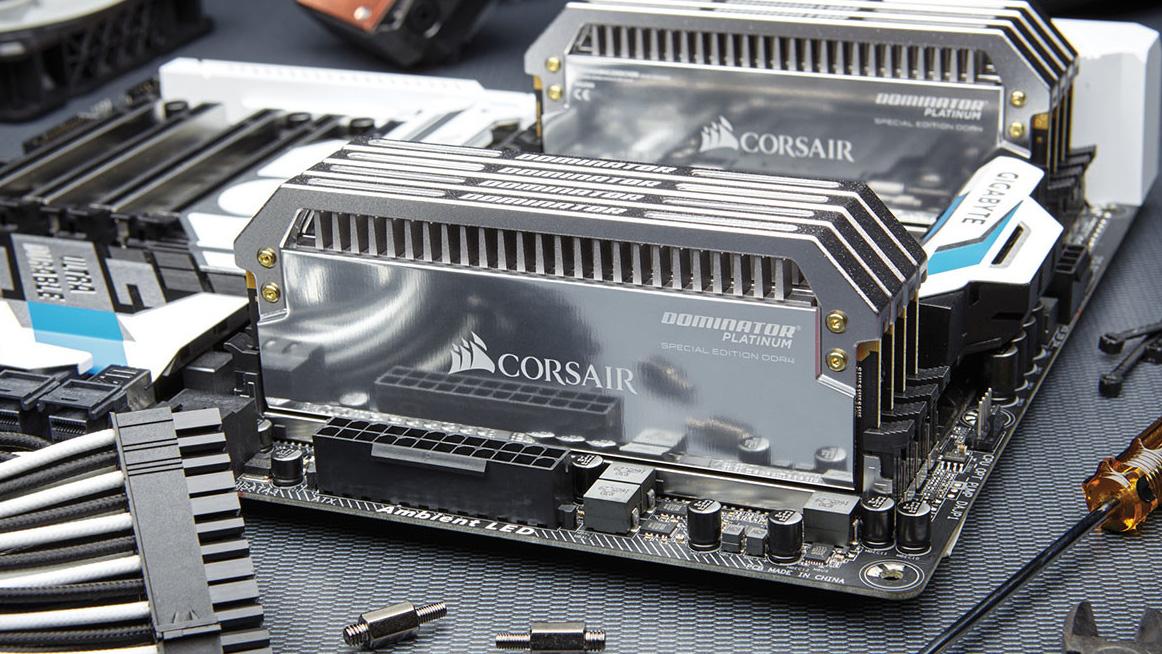 Memorie DDR4 a tiratura limitata con la serie Corsair Dominator Platinum