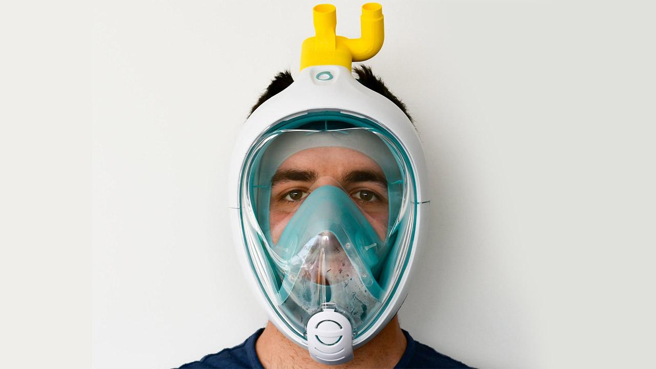 maschera ospedaliera 3m