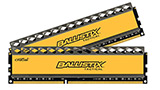 Crucial Ballistix Sport Kit RAM 8GB sotto i 40€ (-31%), Crucial Ballistix Tactical Kit RAM 8GB a 46,47€