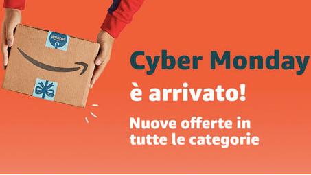 Offerte Amazon  Cyber Monday: molti articoli a metà prezzo e promo su iPhone, TV Samsung e molto altro! (Aggiornamenti continui)