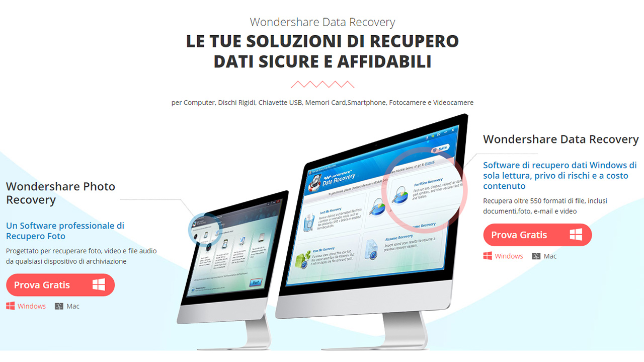 Wondershare Data Recovery, il potente software per il recupero dei file persi