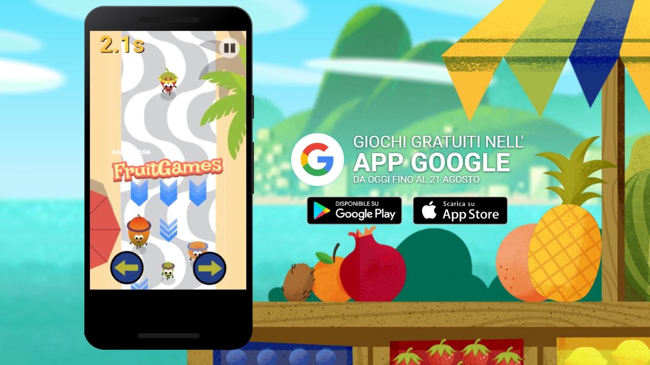 Fruit bump game free download - Di Rio Google Lancia I Doodle Fruit Games 2016 Hardware Upgrade