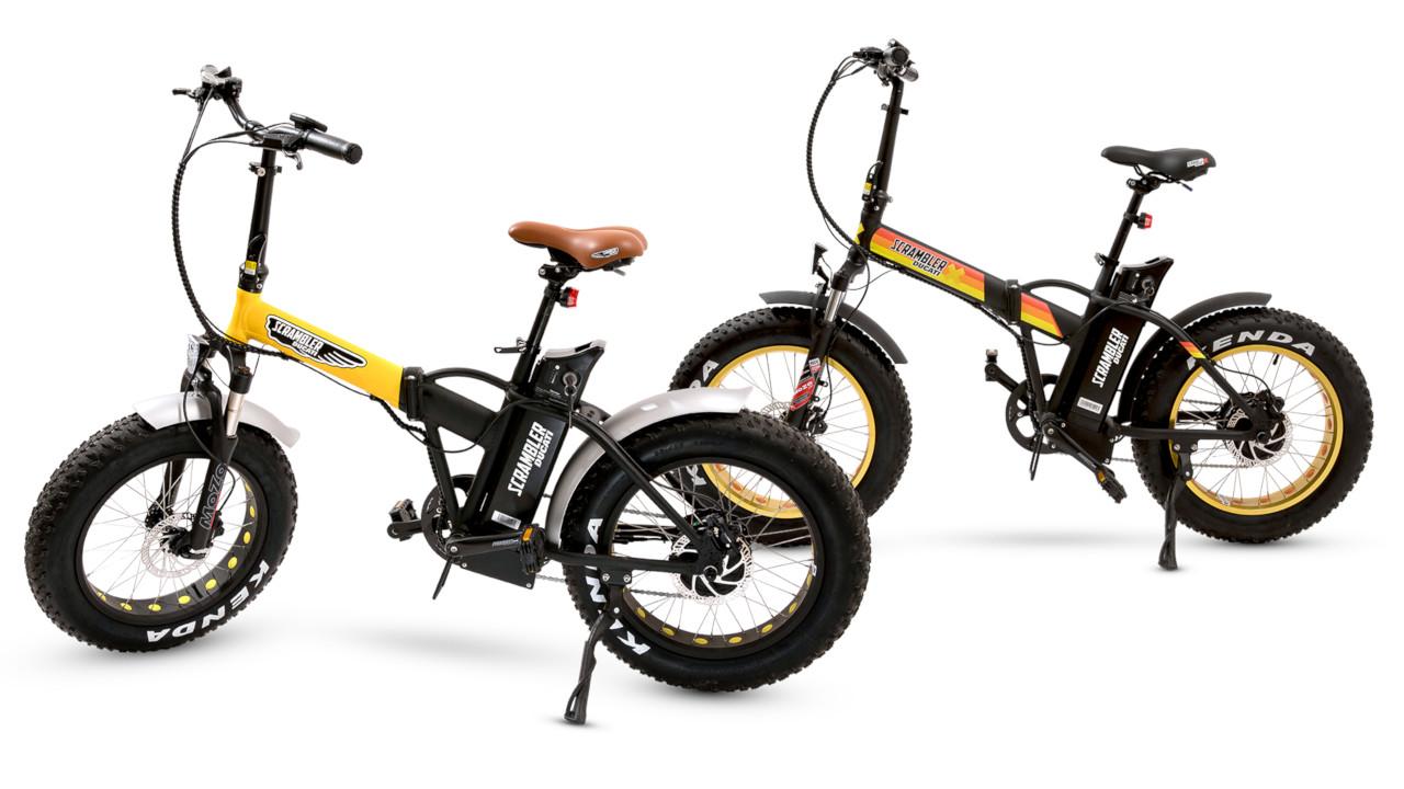 Ducati prosegue sulla strada delle e-bike: ecco la bici Scrambler pieghevole e Fat