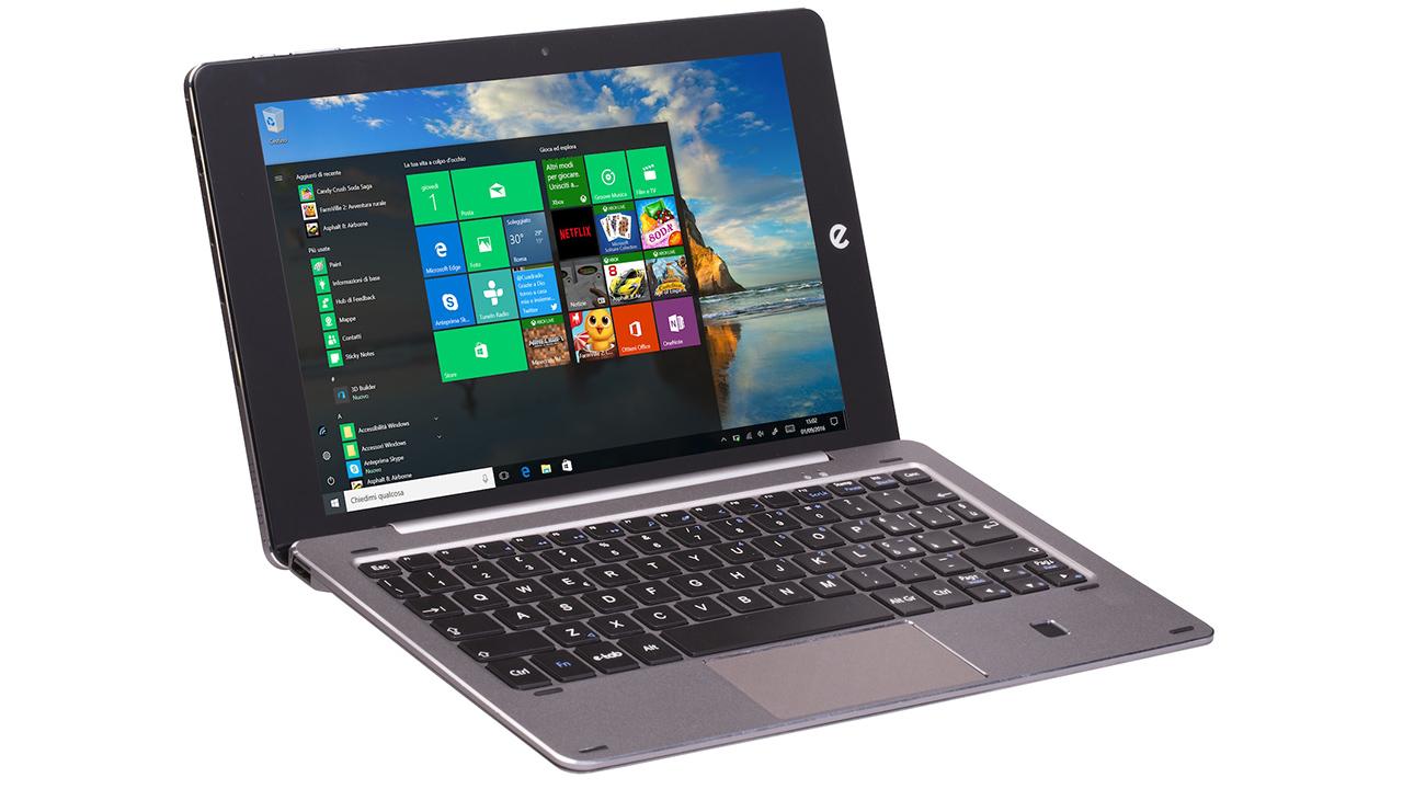 Microtech e-tab Pro: Windows 10 e Android insieme nel tablet italiano da 329 euro