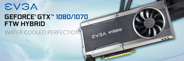 Raffreddamento misto aria e acqua per le schede EVGA GeForce GTX FTW Hybrid