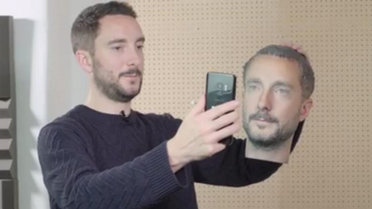 Android: il riconoscimento facciale fallisce con una faccia stampata in 3D