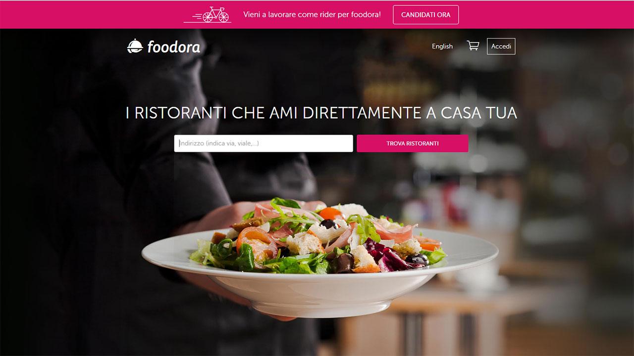 Foodora, l'app per ordinare il pranzo raggiunge un milione di download in 12 mesi