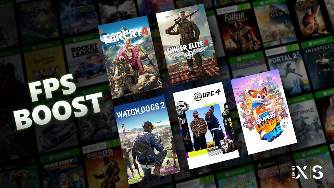 FPS Boost su Xbox Series X|S può quadru …
