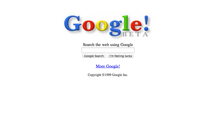 Oggi è il 18esimo anniversario di Google: ecco la sua evoluzione in 20 immagini