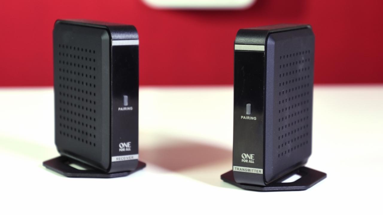 One for All Wireless HDMI Sender è un prodotto costoso, ma con caratteristiche pressoché uniche