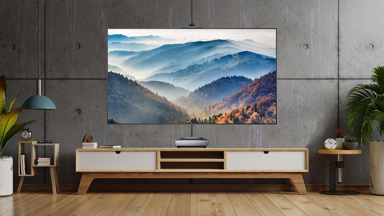 Hisense Trichroma Laser TV, con laser RG …