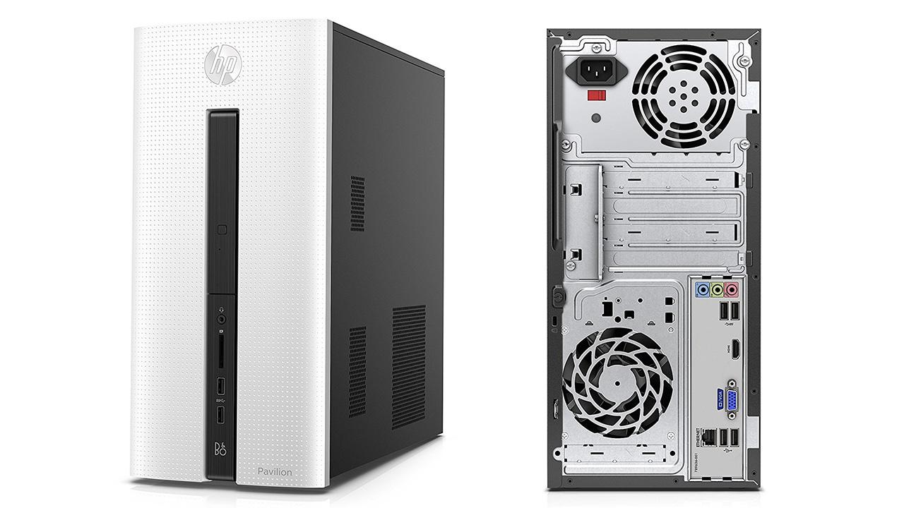 HP Pavilion 550-206nl Desktop, Intel Core i5-6400, RAM 8 GB, HDD da 1 TB, GeForce GT 730A 4GB dedicati a meno di 500 Euro su Amazon