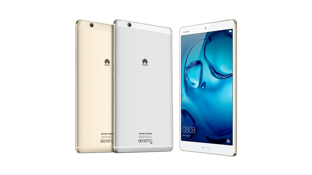 Nuovo tablet di punta presentato da Huawei a IFA: MediaPad M3