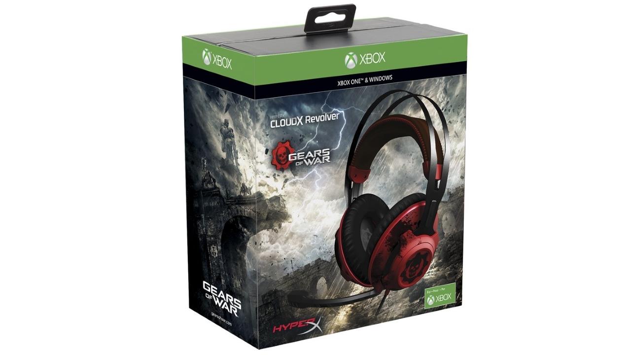 HyperX presenta le cuffie gaming Gears of War progettate in collaborazione con Microsoft