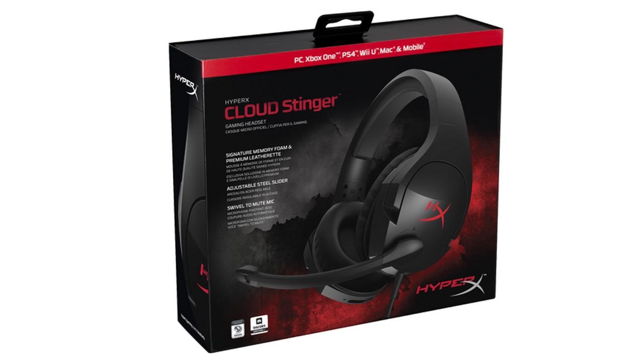 HyperX presenta nuove cuffie Cloud Stinger con padiglioni che si possono ruotare