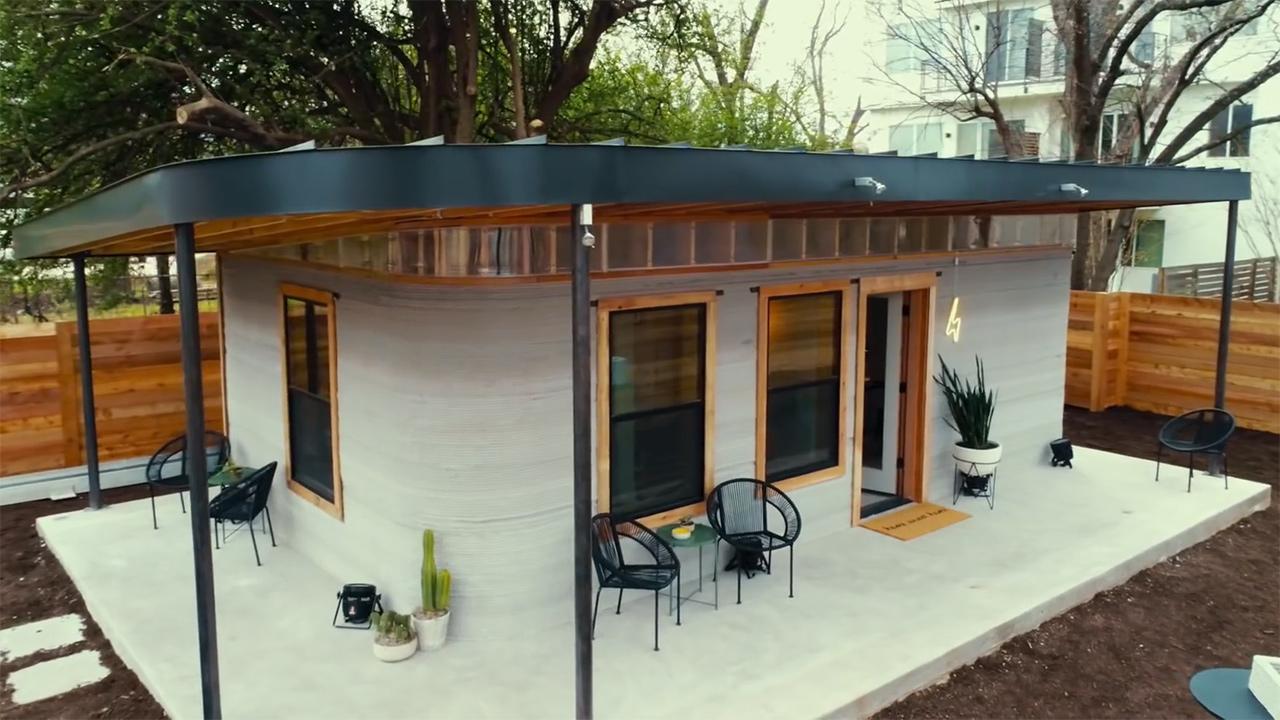 Ecco la casa rivoluzionaria stampata in 3d costa - Costo casa mobile ...