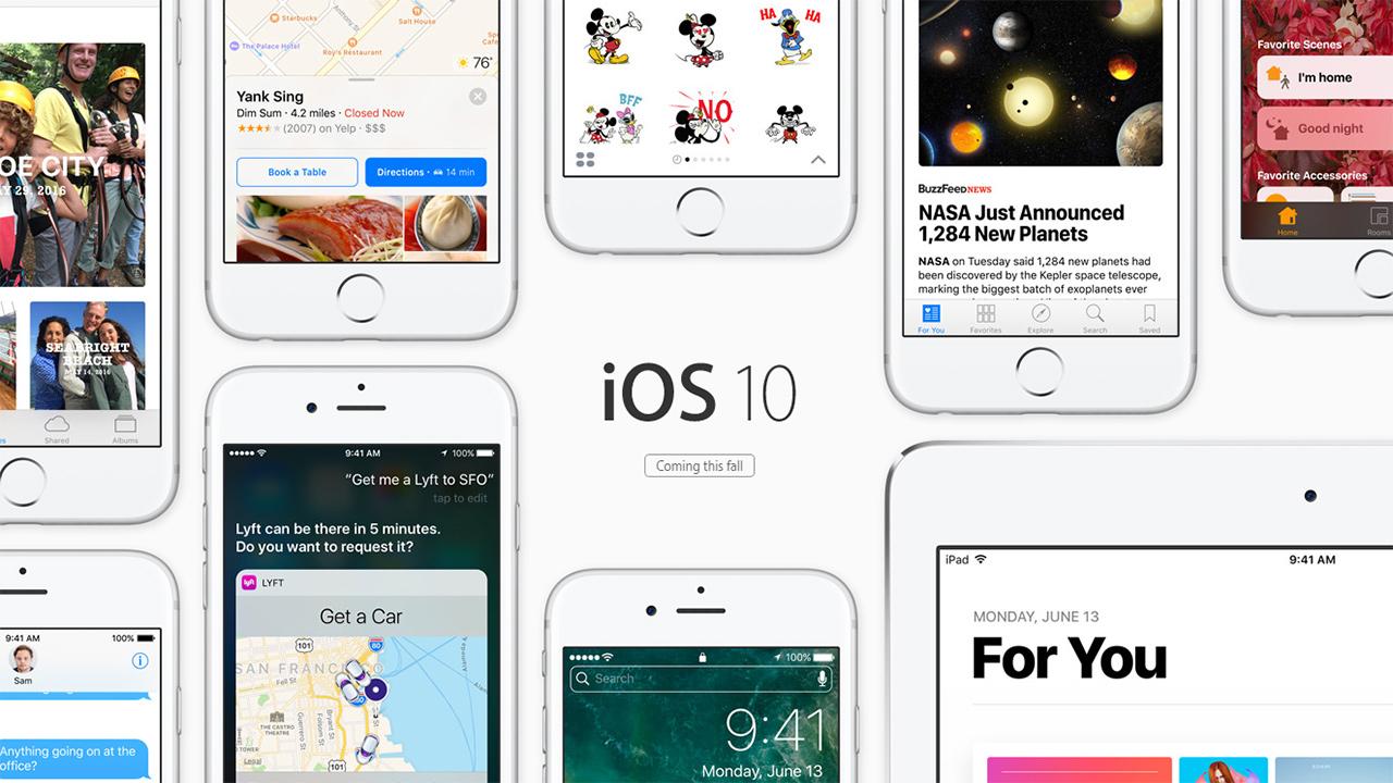 iOS 10, Apple rilascia la GM anche in versione pubblica. Changelog