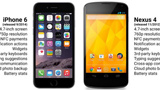 iPhone 6 vs Nexus 4: un confronto impietoso per Apple?
