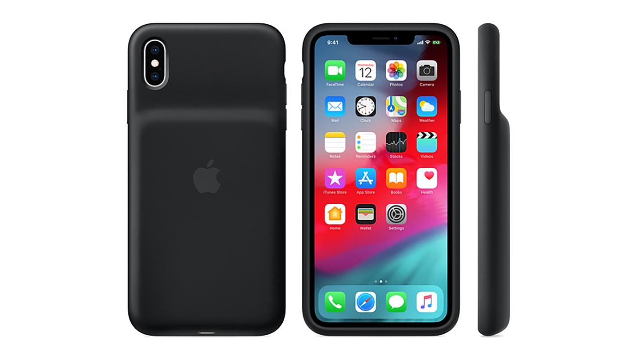 Apple lancia la prima cover con batteria per iPhone XS, XS Max e ...