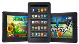 Amazon, al debutto i nuovi Kindle Fire HDX 7 e Kindle Fire HDX 8,9