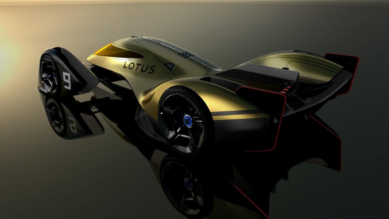 Lotus E-R9, l'auto elettrica da en …