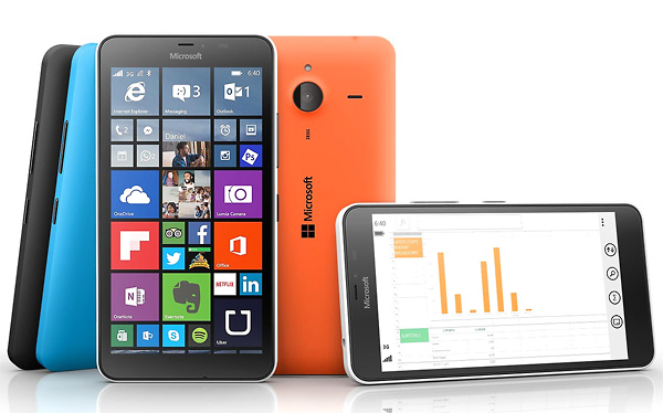 Nokia Lumia 640 XL disponibile in Italia con display da 5,7 pollici a 209 euro