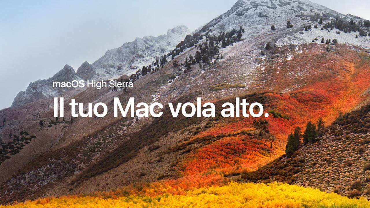 macOS 10 13 High Sierra è ufficiale: tutto quello da sapere