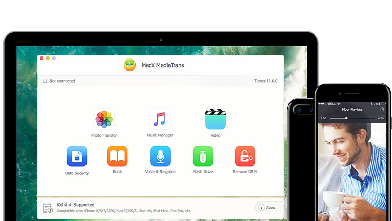 Come effettuare il backup di iPhone senza iTunes con MacX MediaTrans (gratis in questi giorni)