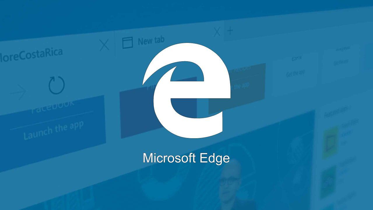 Microsoft rilancia la sfida a Chrome: Edge consuma meno con Windows 10 AU