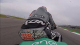 MotoE, primo video onboard, in sella Colin Edwards: silenziosa mica tanto!