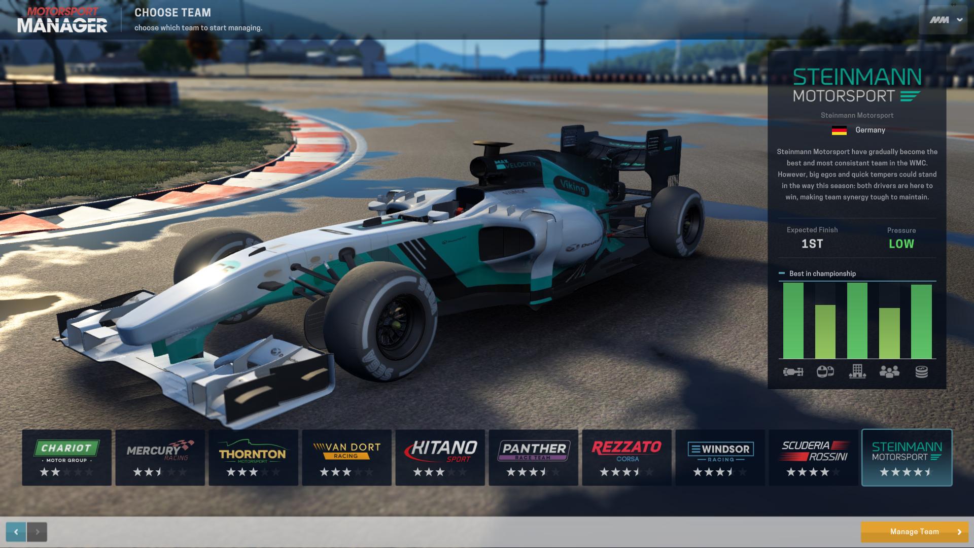 Motorsport Manager arriverà su Windows e Mac OS X a novembre