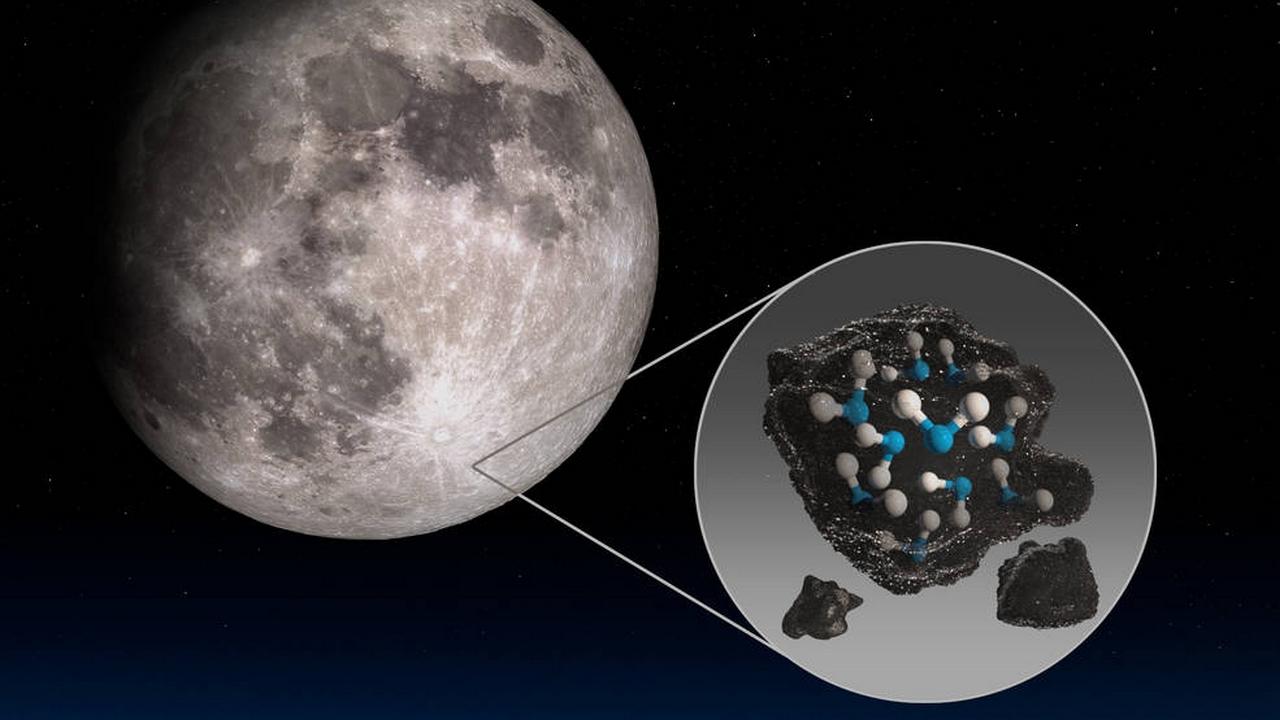 NASA: c'è acqua nelle zone della Luna illuminate dal Sole vicino alla Terra. Una scoperta fondamentale!