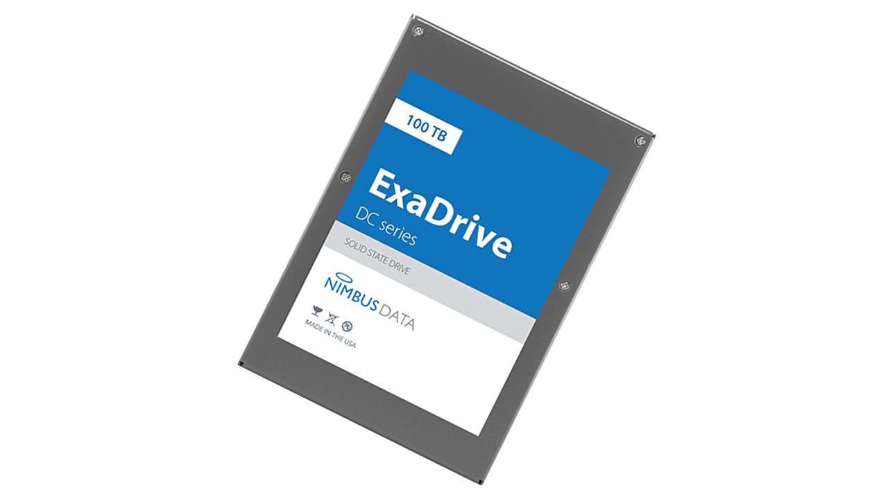 nouveau produit 10336 181a2 Nimbus Data presenta ExaDrive DC100 SSD, capienza 100TB ...