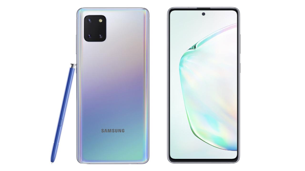 Samsung Galaxy S10 Lite e Galaxy Note 10 Lite ufficiali
