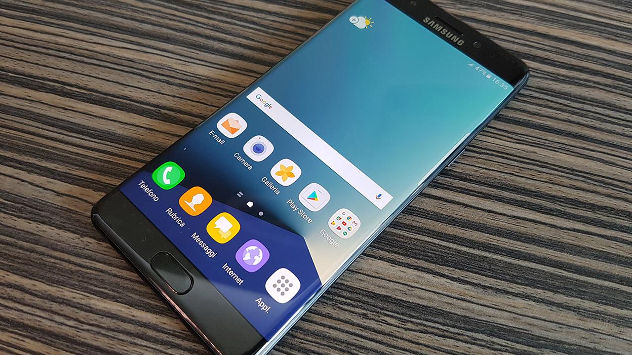 Stop temporaneo alla produzione di Samsung Galaxy Note 7