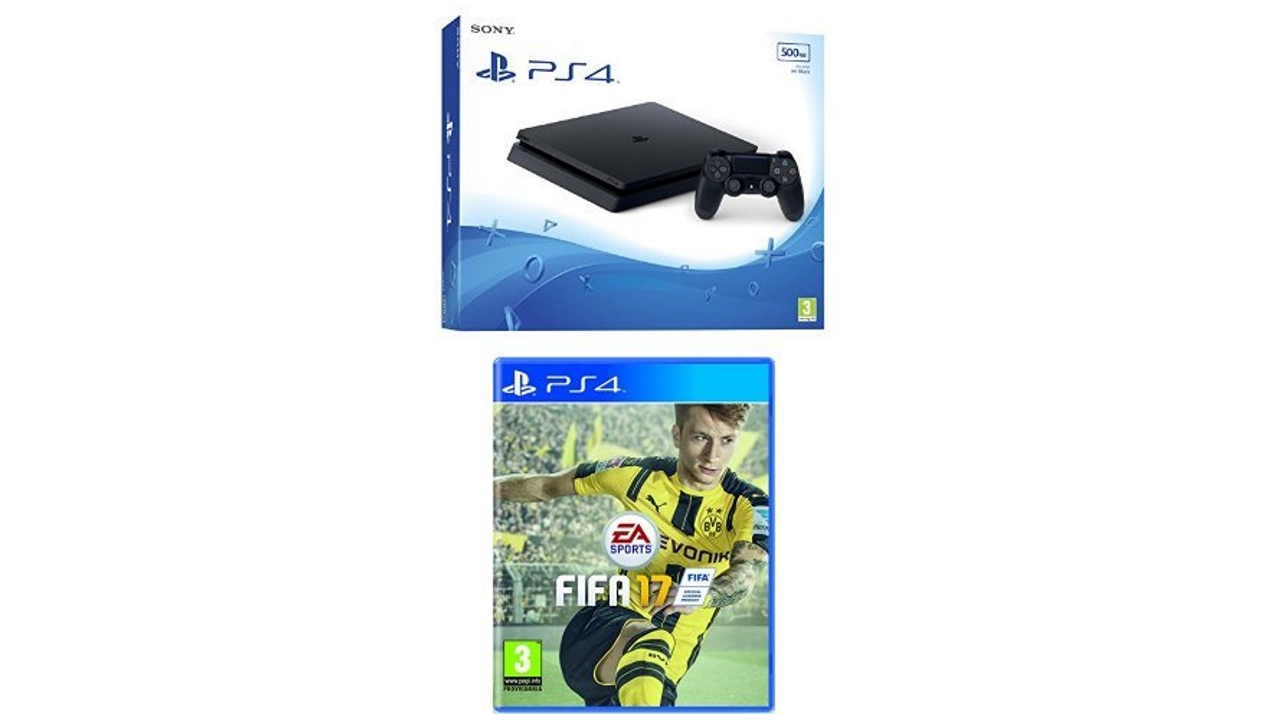 Black Friday 2016: PS4 Slim con Fifa 17 a 269 Euro su Amazon