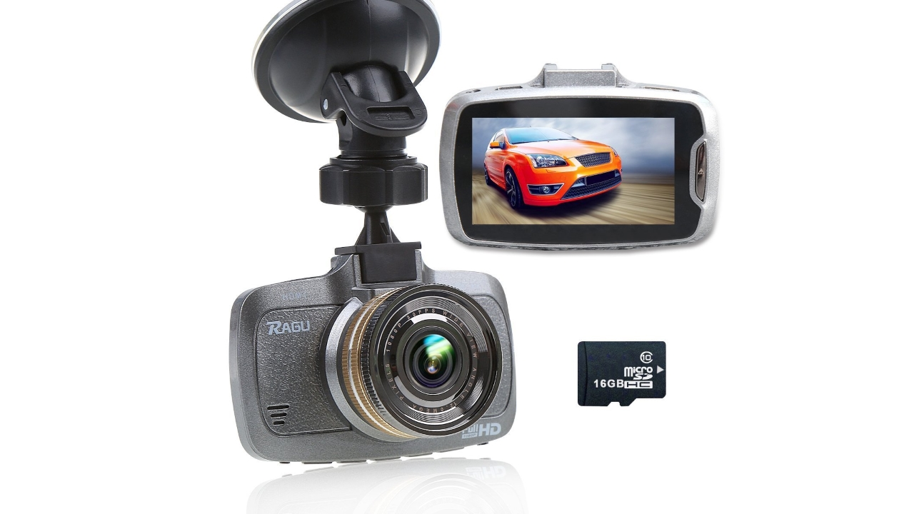 Ragu dash cam una telecamera per auto adesso in forte for Telecamera amazon