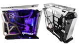 Raidmax, case mid-tower open air: ecco l'X08 in alluminio e vetro temprato