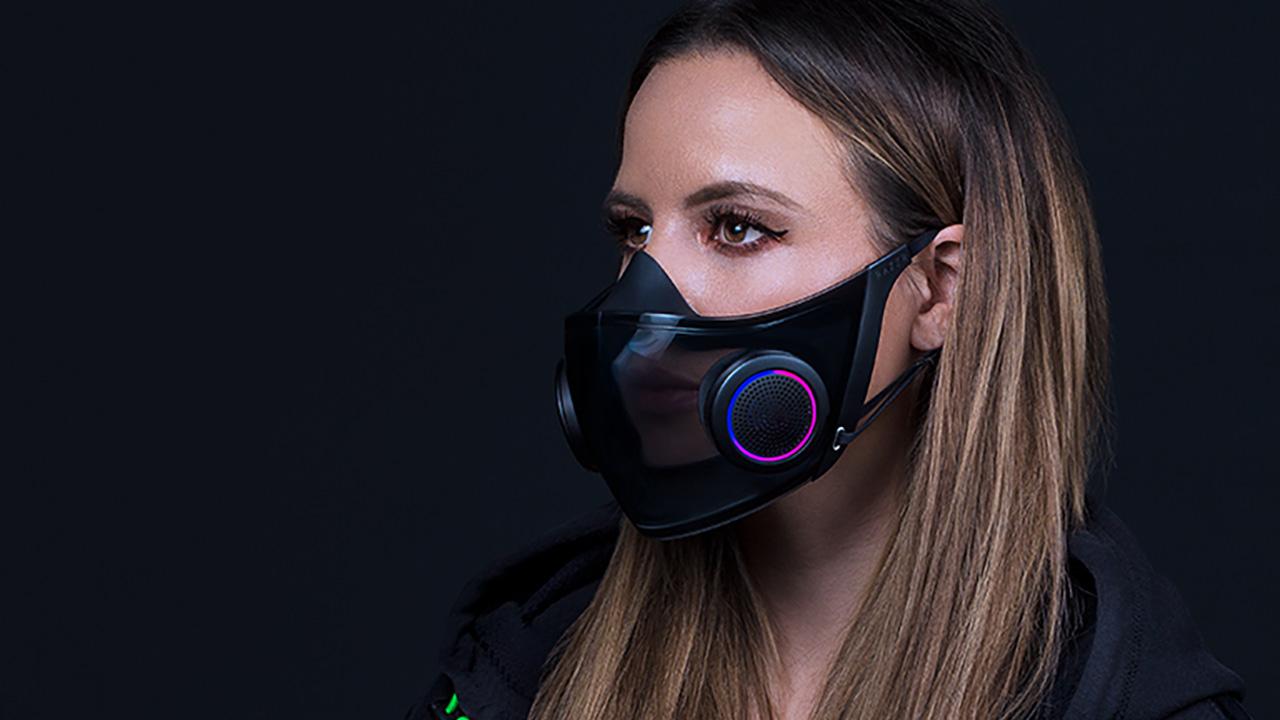 Project Hazel, la mascherina con LED RGB …