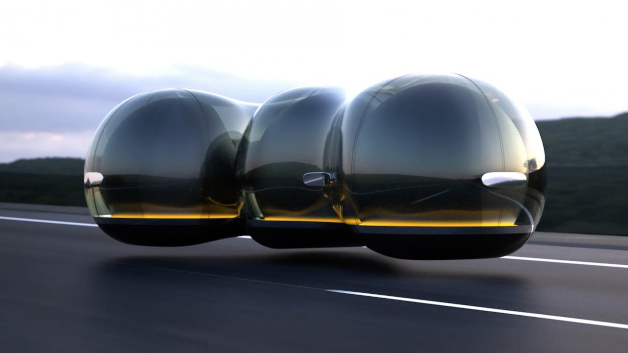 Renault Float Auto A Levitazione Magnetica Come Hyperloop Hardware Upgrade