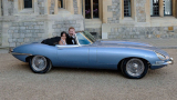 Jaguar E-Type Zero, auto 100% elettrica per il Royal Wedding di Harry e Meghan