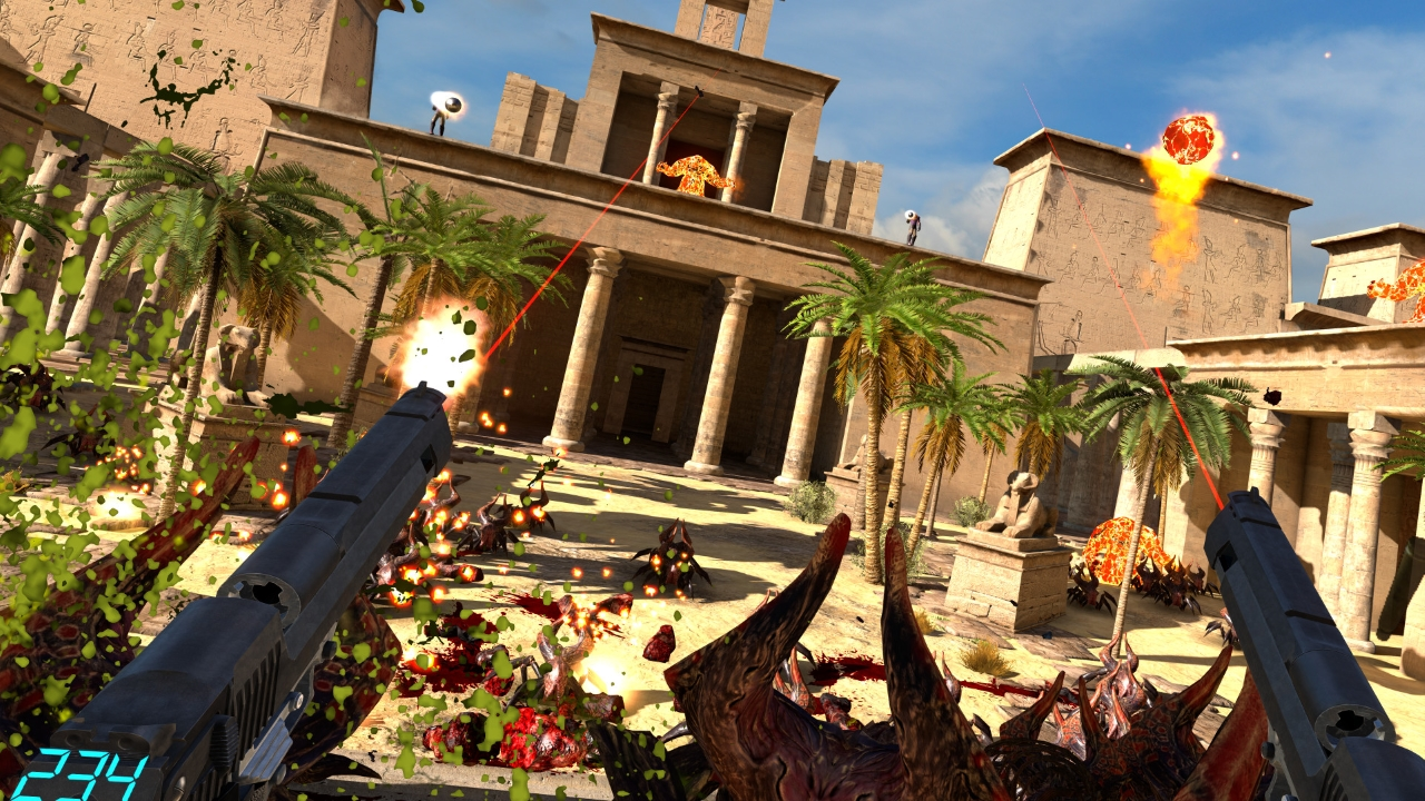 Serious Sam presto disponibile in versione realtà virtuale