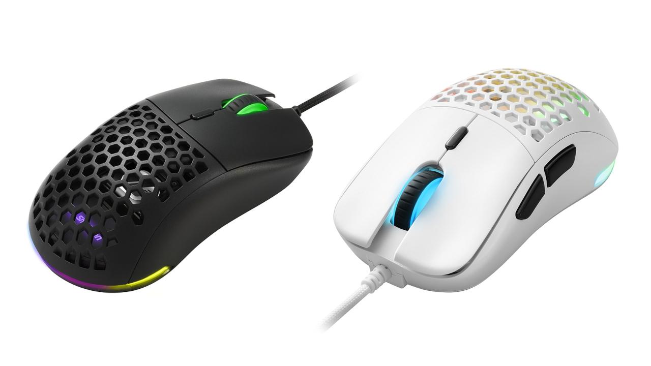Sharkoon, mouse Light² 180: ultralegger …
