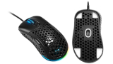 Sharkoon Light² 200, mouse ultraleggero con superfici a nido d'ape per soli 62 g di peso